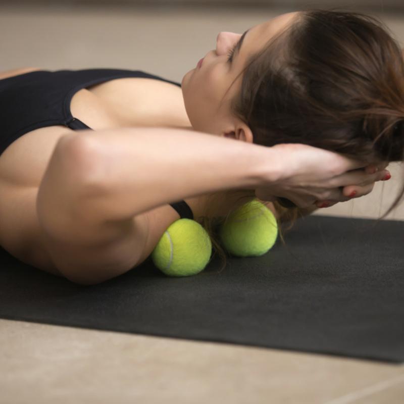 Faszien Yoga für Schulter- und Nackenbereich