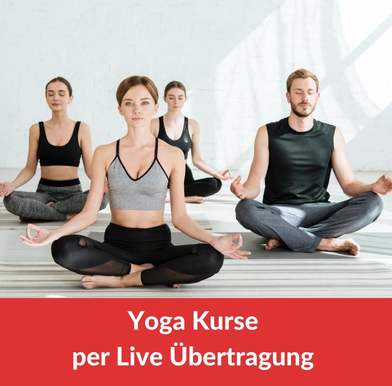 Yoga Kurse per Live Stream