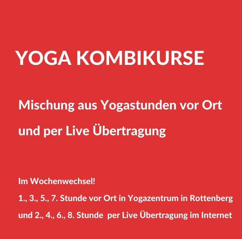 Yoga Kombikurse