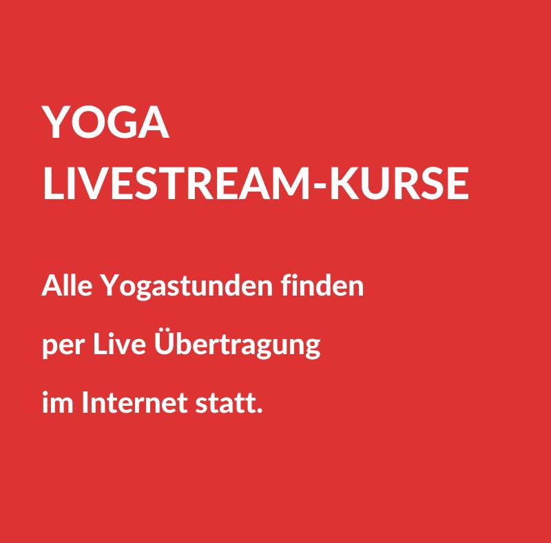 Yoga Livestream-Kurse