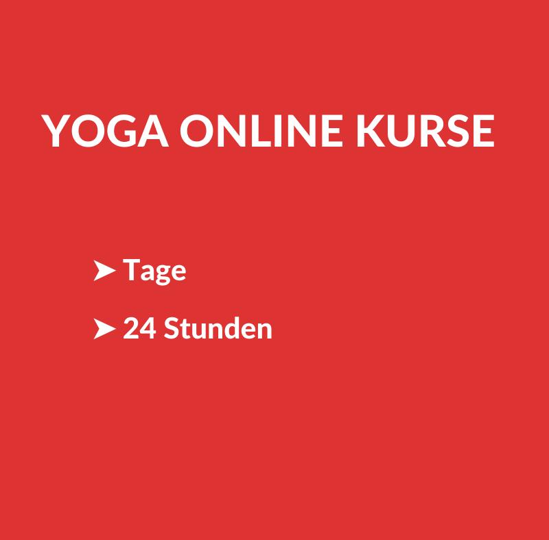 Yoga Online Kurse